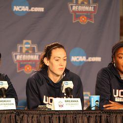UConn's Moriah Jefferson, Breanna Stewart & Morgan Tuck
