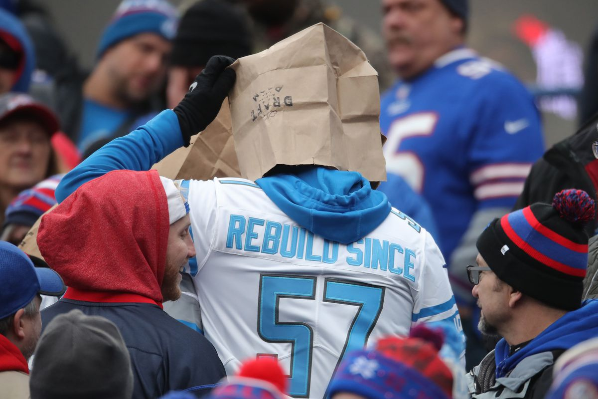 What would it take for you to give up your Detroit Lions fandom?