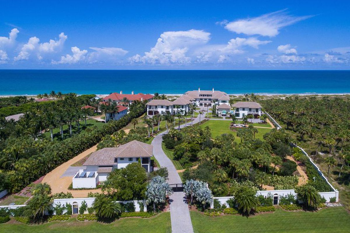 45m Oceanfront Compound In Vero Beach To Hit Auction Next