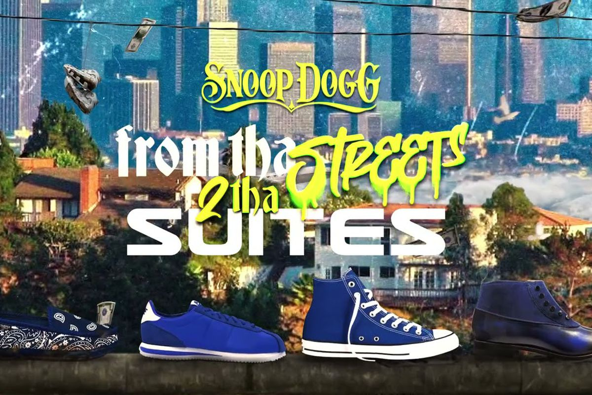 Snoop Dogg's 'From Tha Streets 2 Tha Suites' artwork