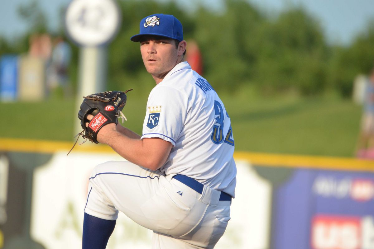 New Royals pickup Liam Hendriks was impressive, to say the least, in his Omaha debut.