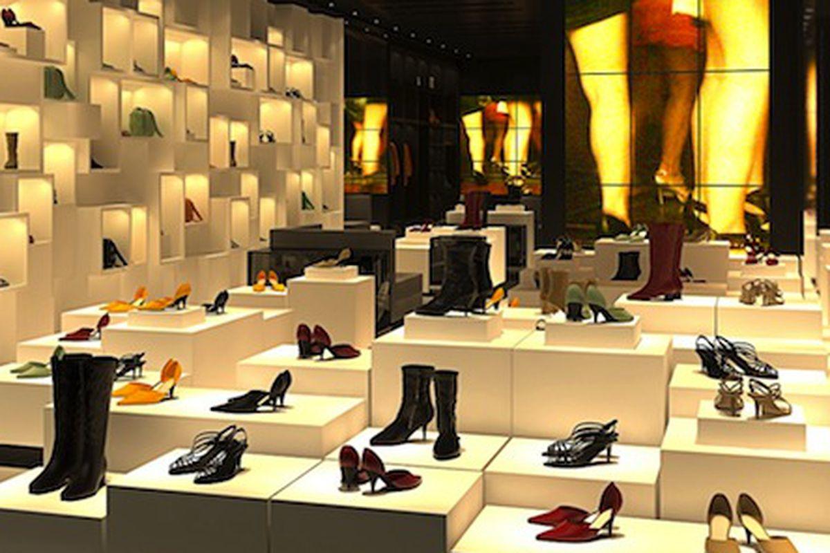 "A rendering of the Madison Avenue store via <a href=""http://www.wwd.com/accessories-news/footwear/schutz-to-open-on-madison-6161750?module=hp-accessories"">WWD</a>"