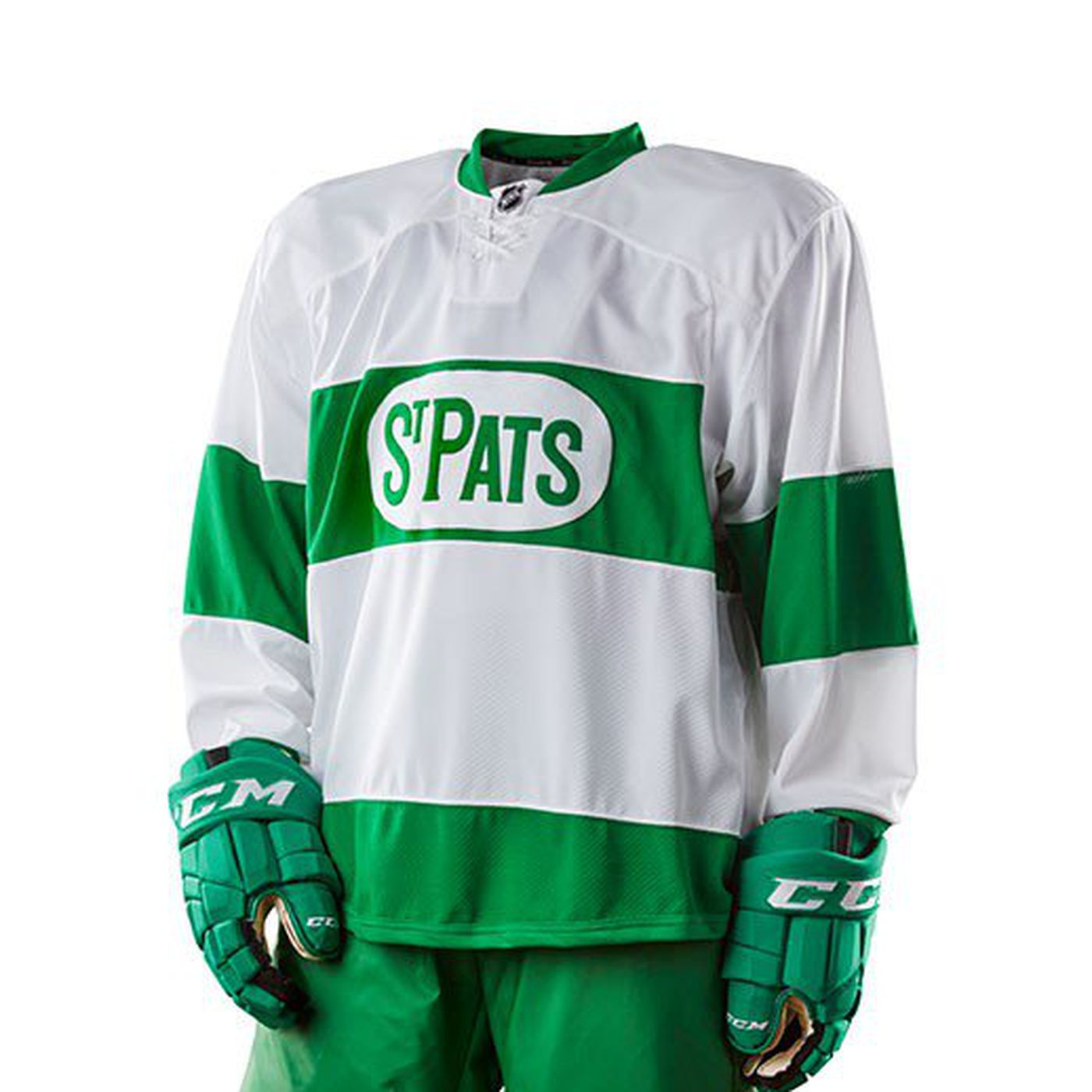 Toronto Maple Leafs have a new St. Pats jersey design - Pension Plan ... 6da1cf238