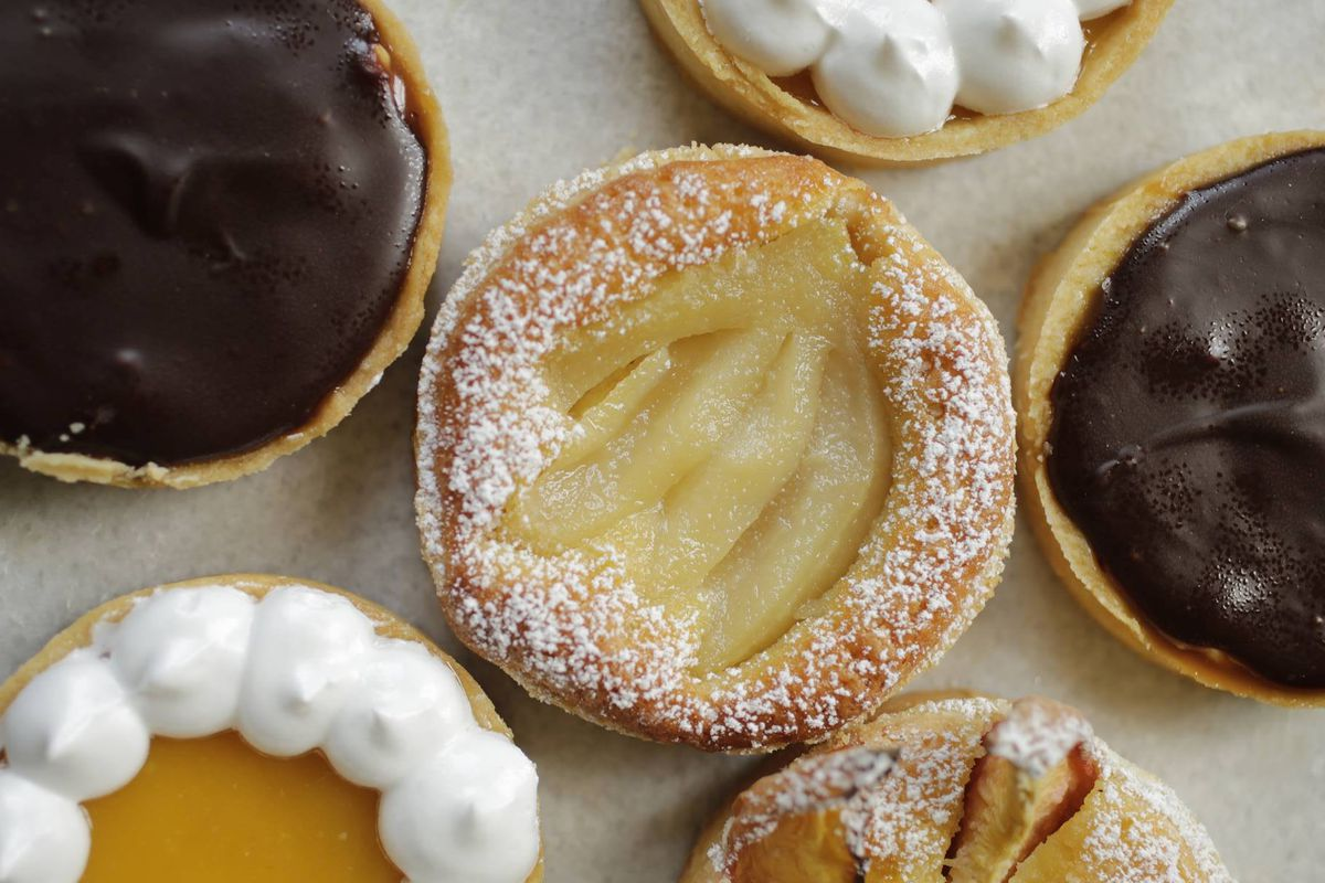 Little tarts from Beth Biundo Sweets in New Orleans