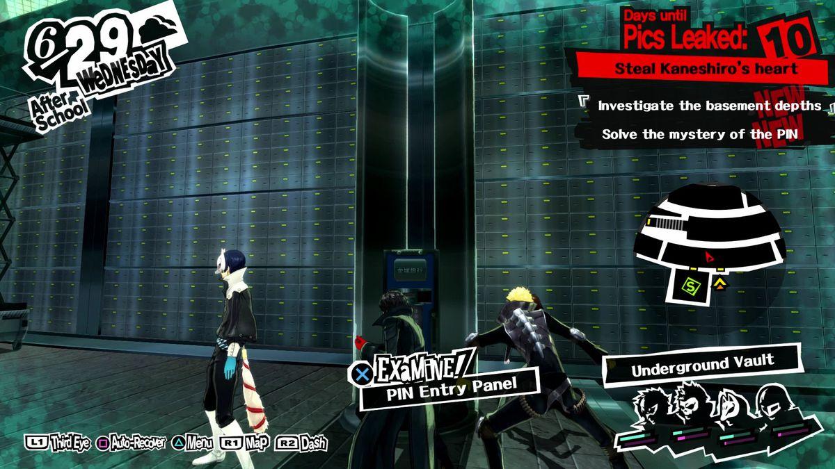 Persona 5 Guide Kaneshiros Bank Palace Walkthrough Polygon