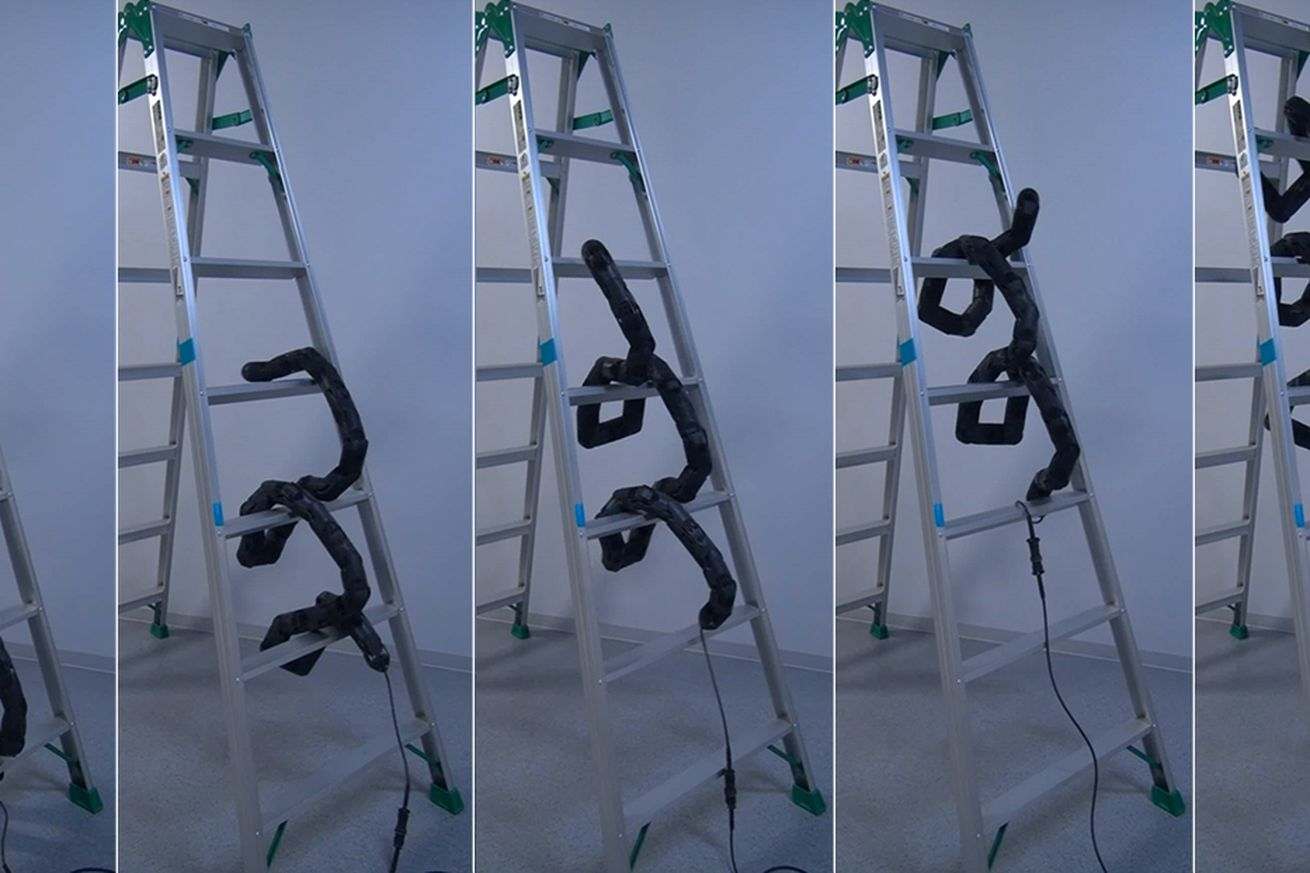 a new snakebot proves that climbing ladders won t save you from killer robots