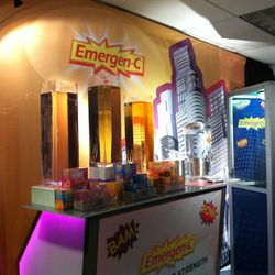 What's a gift lounge without an Emergen-C bar?