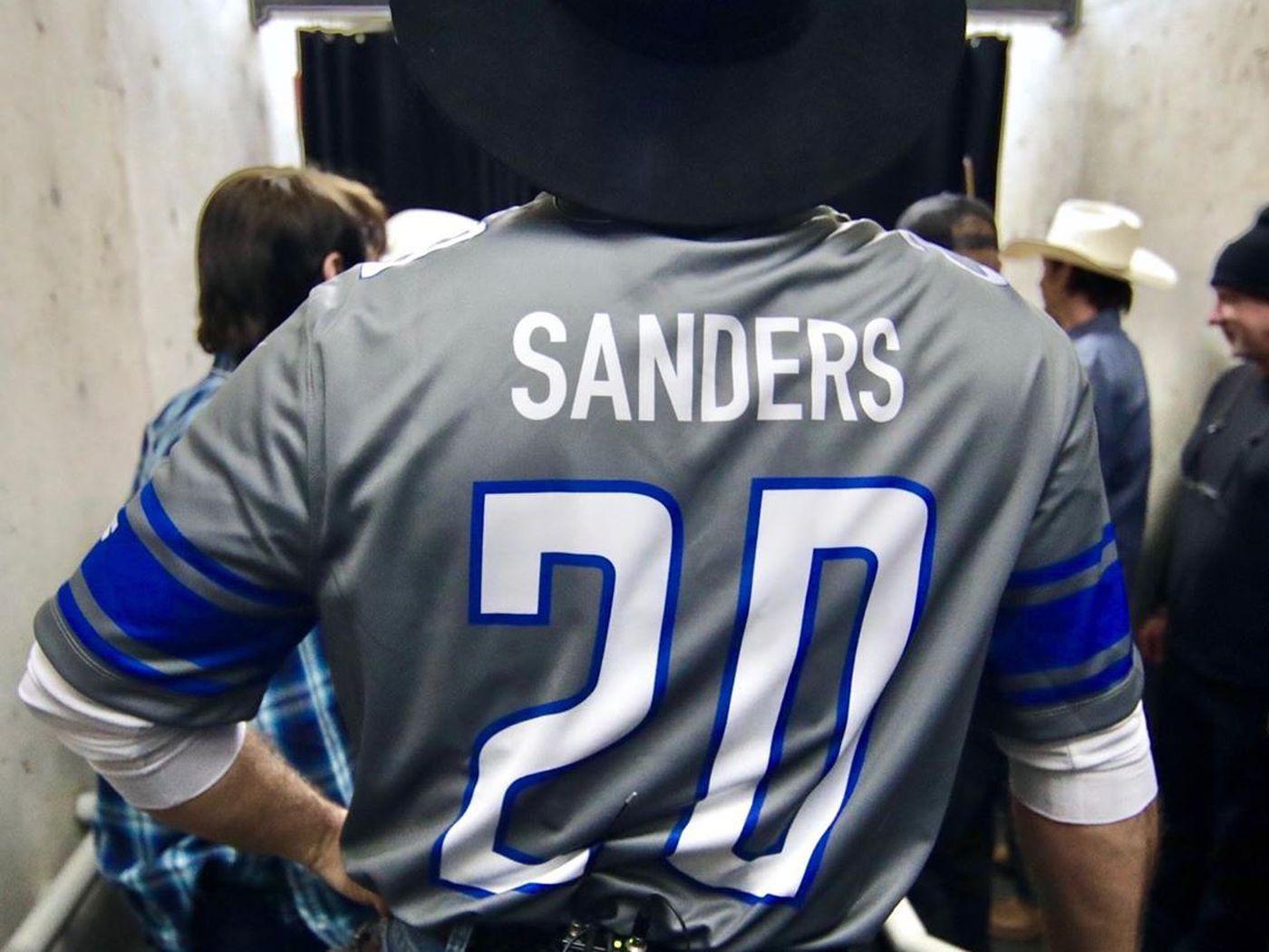 sanders jersey
