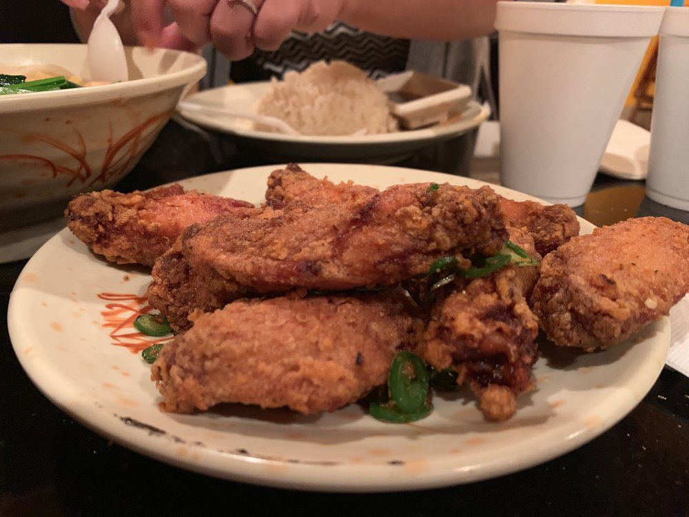 Hot and pepper chicken at Big Wong