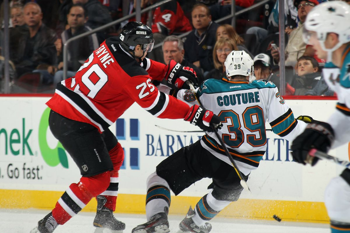 buy popular 5addb 0c838 New Jersey Devils at San Jose Sharks: Game Preview #23 - All ...