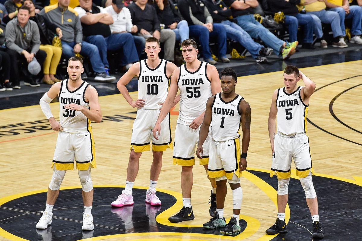 NCAA Basketball: Purdue at Iowa