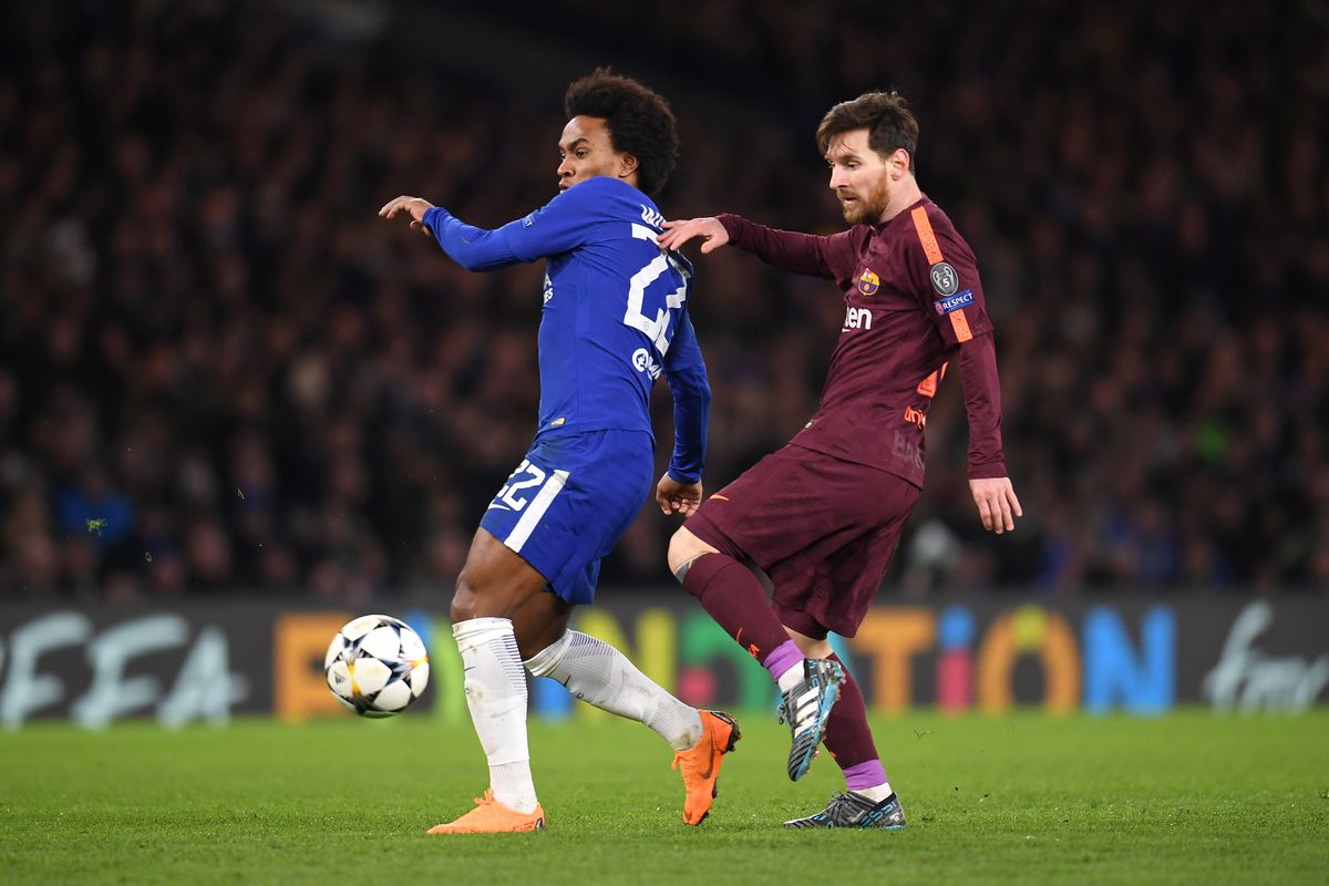 Chelsea Vs Manchester United Vs Fc Barcelona: Willian On His Barcelona Masterclass, And Repeating It
