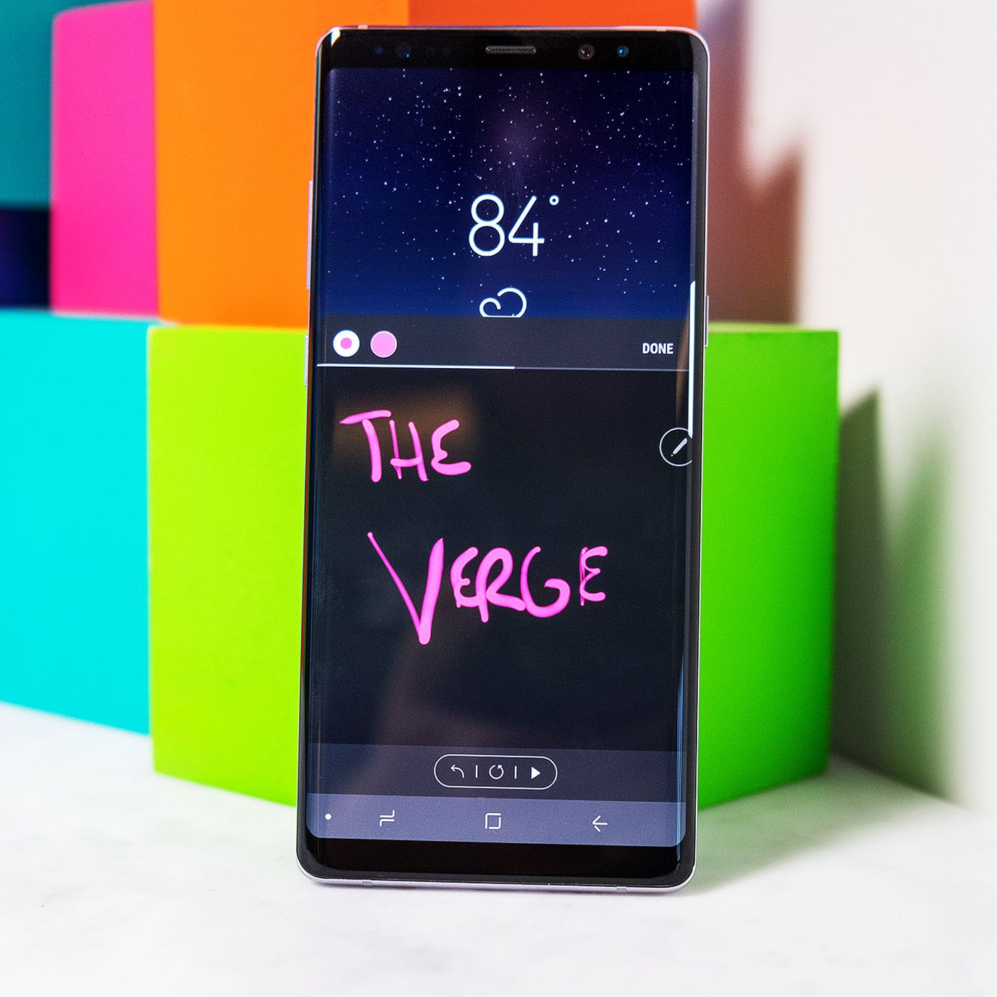 How to use the Galaxy Note 8's Live Messages - The Verge