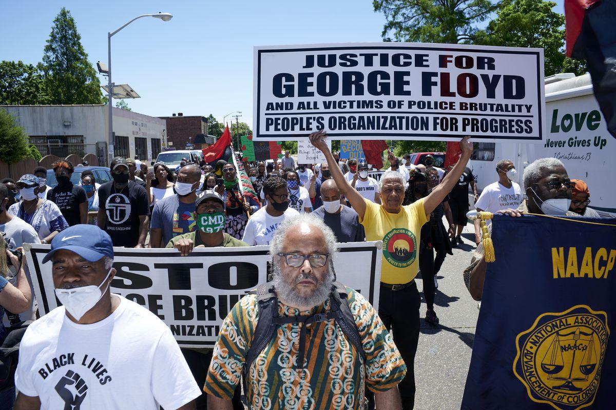 Black Men Rising March in Camden, NJ