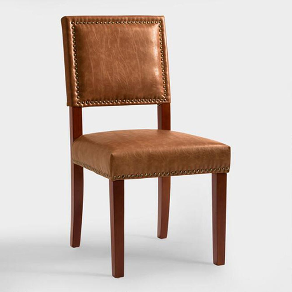 World Market Red Leather Chair: Restaurant Trend: MeMe's Diner Brings Vintage Charm To