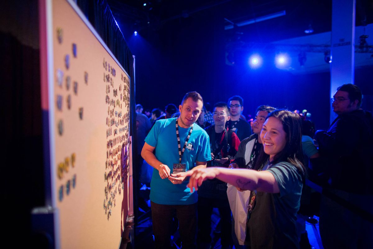 Fans engage in activities at BlizzCon