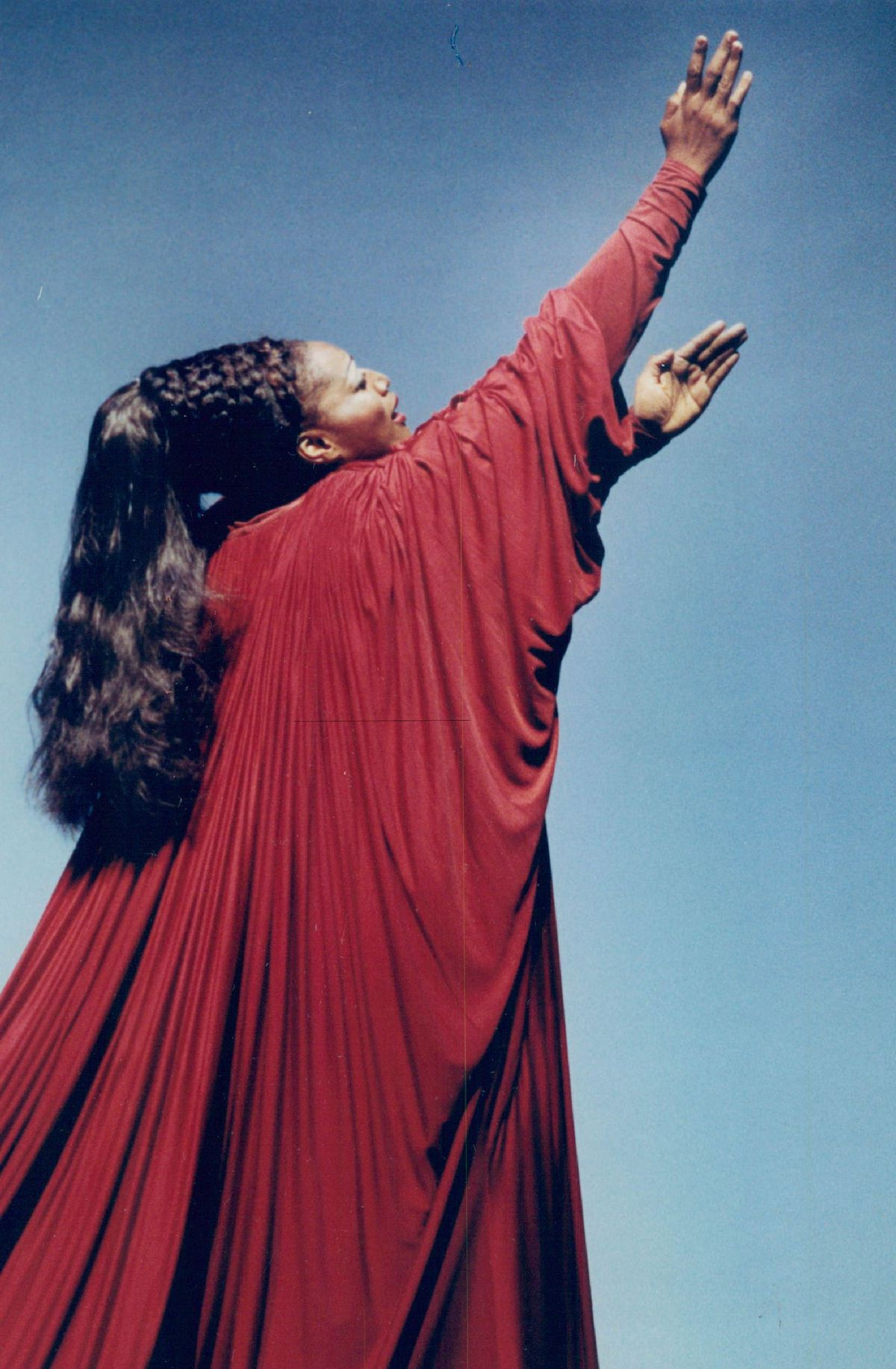 """Jessye Norman performs the title role in """"Alceste"""" at Lyric Opera in 1990."""