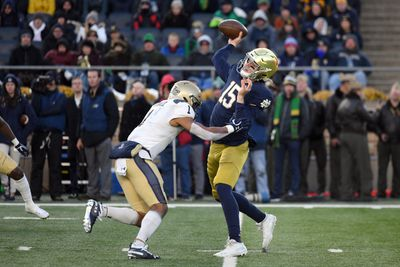 COLLEGE FOOTBALL: NOV 16 Navy at Notre Dame