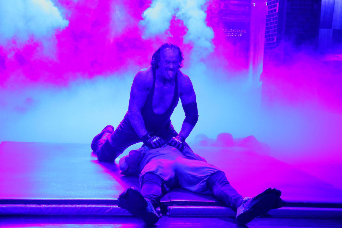 The Undertaker on November 11, 2015