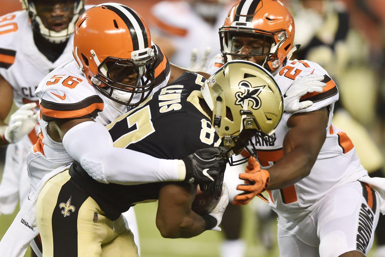 Browns' defensive snap counts & stats: Preseason Week 1