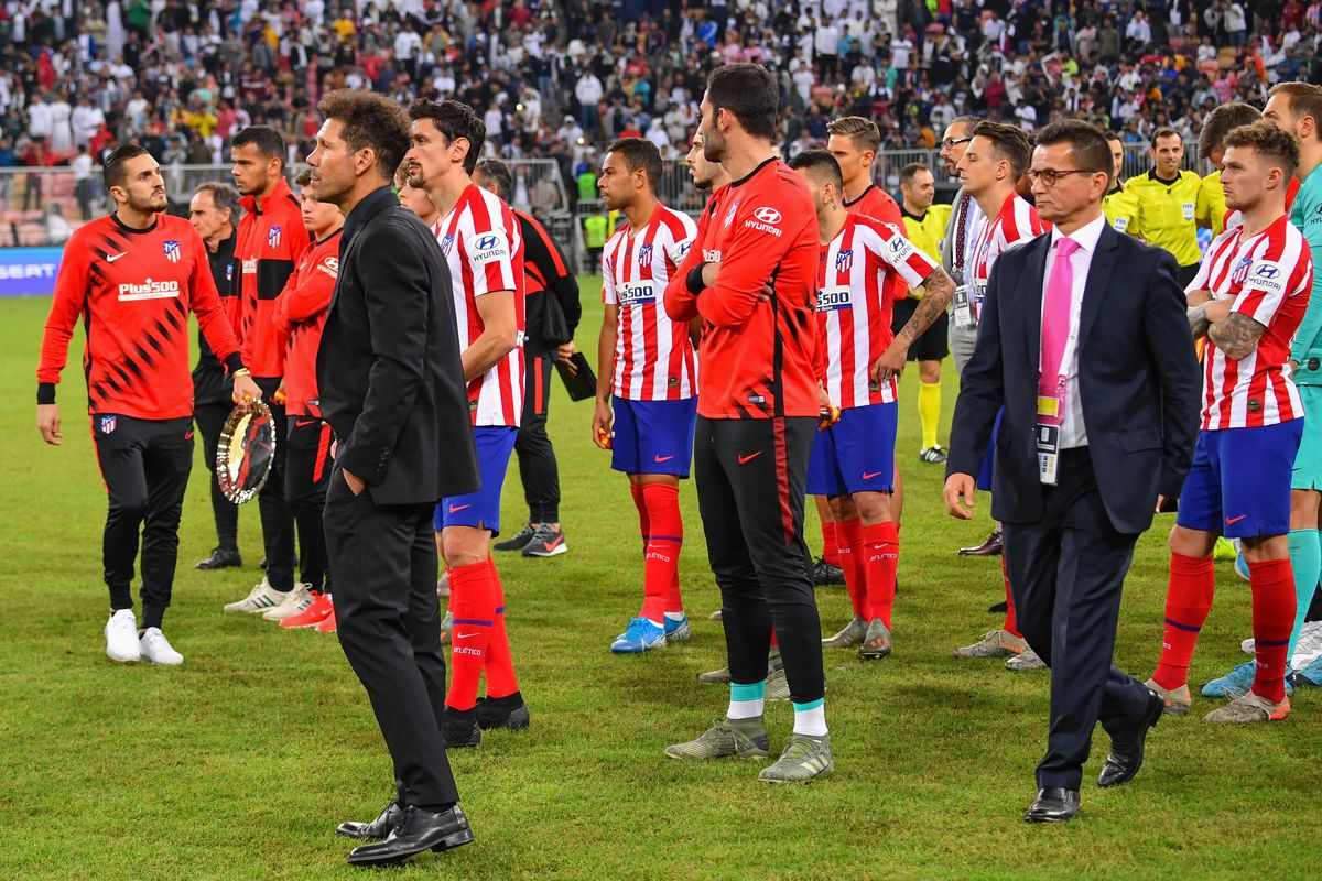 Real Madrid 0 0 Atletico Madrid 4 1 Pens Wounded Atletico