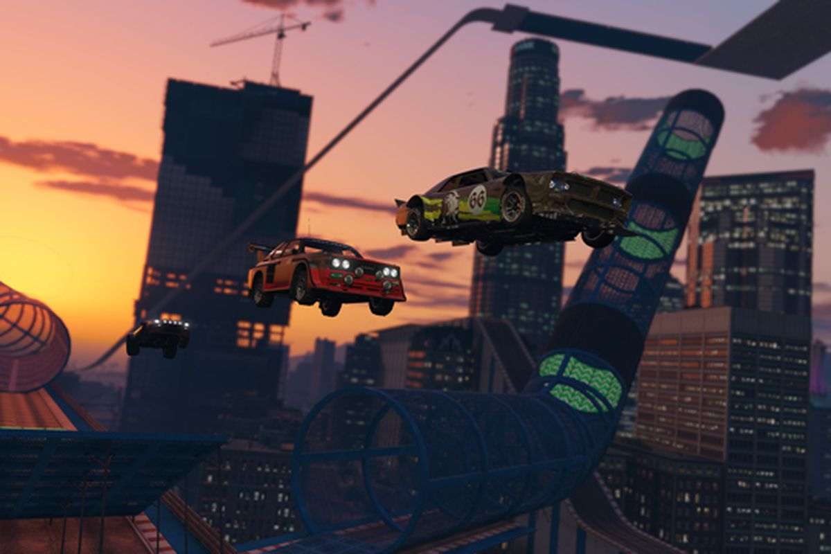 GTA Online is getting crazy new stunt races starting today