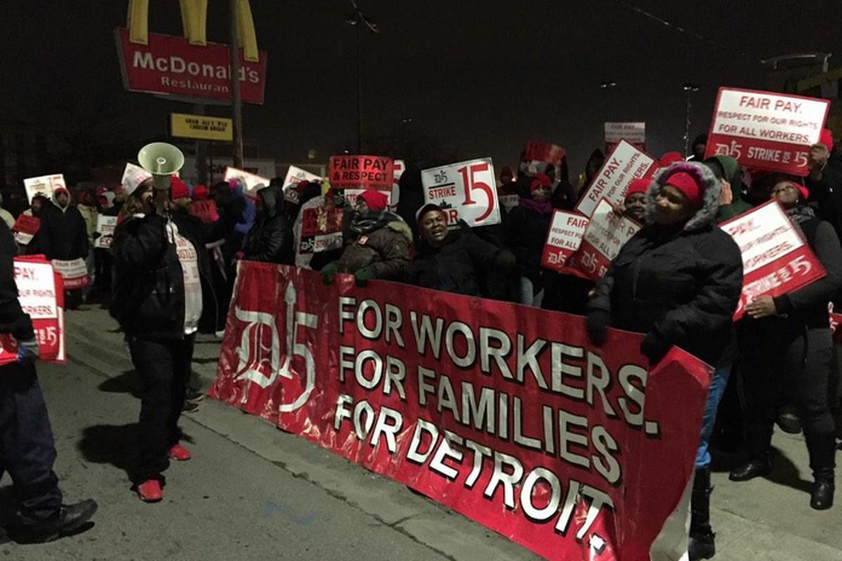 Detroit 15 strikers.