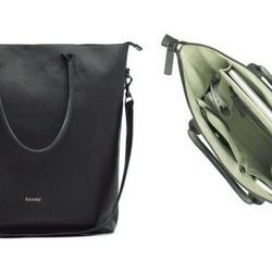 """<b>Nicola Fumo, <a href=""""http://racked.com"""">Racked</a> market editor:</b> """"I just got word of two new bag lines tackling organization in a stylish way that I'm really excited about. The first is <b>DAAME</b>, which has two styles available for pre-order r"""