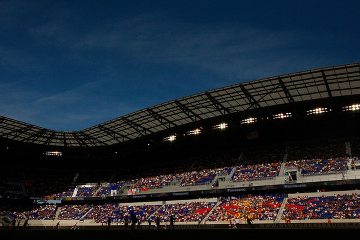 It's time we fill those seats.  (Photo by Mike Stobe/Getty Images for New York Red Bulls)