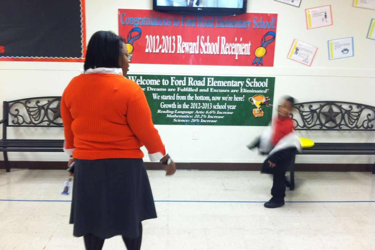 Ford Road Elementary is among schools in Shelby County's Innovation Zone, a program that stands to benefit from money headed to the district as part of a settlement with the city of Memphis.
