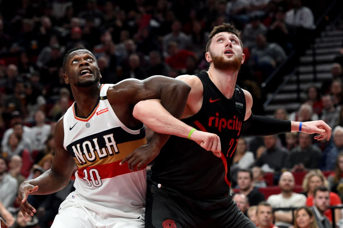 sale retailer c9596 81ec1 NBA Preview  New Orleans Pelicans to tussle with Portland Trail Blazers