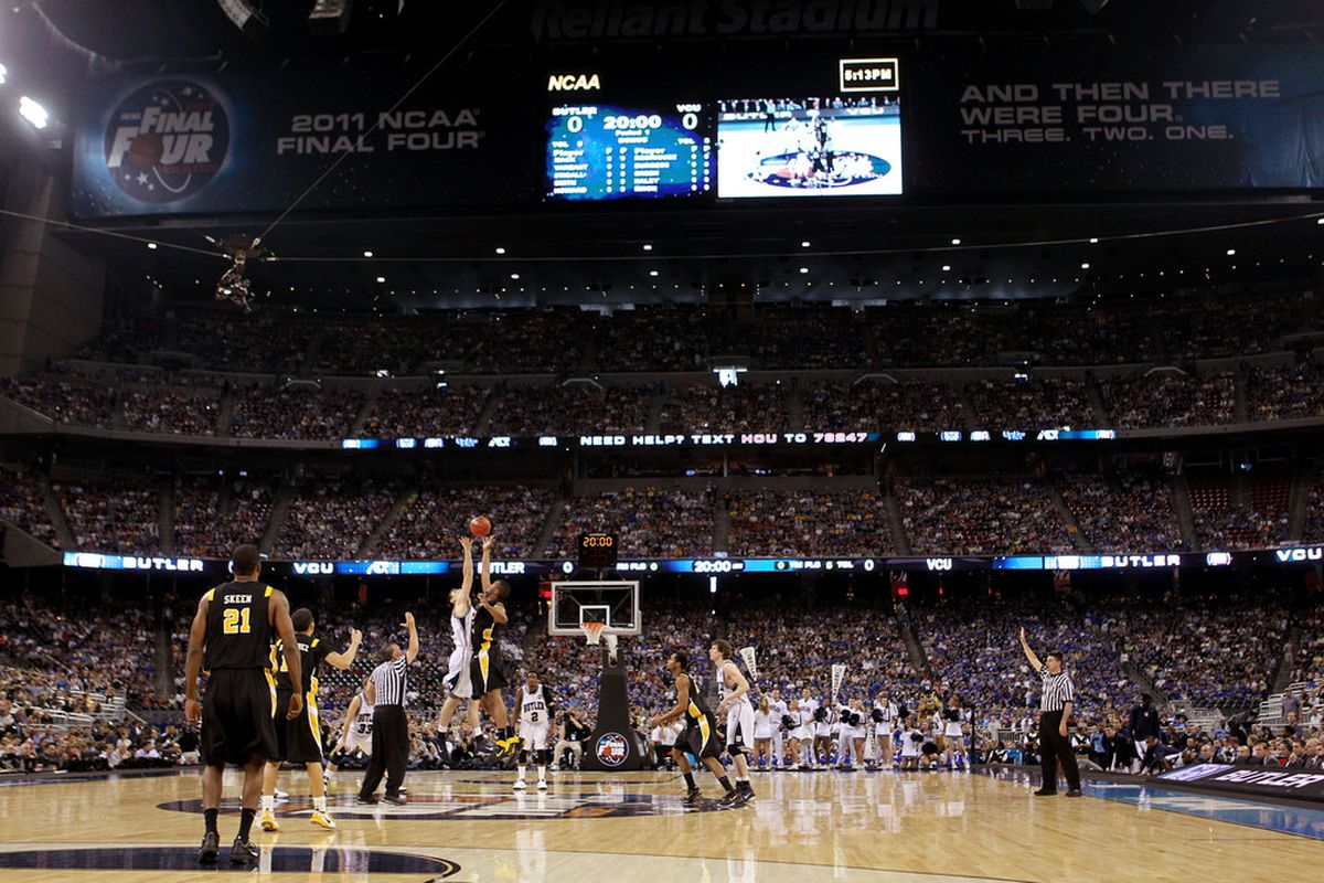 Basketball is returning to Reliant Stadium and UCLA will be there