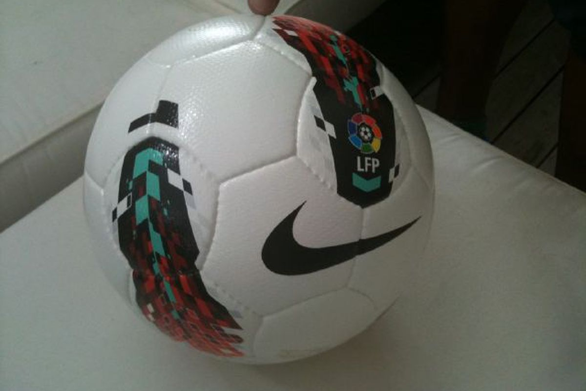 Here's the official La Liga ball for 2011-12!
