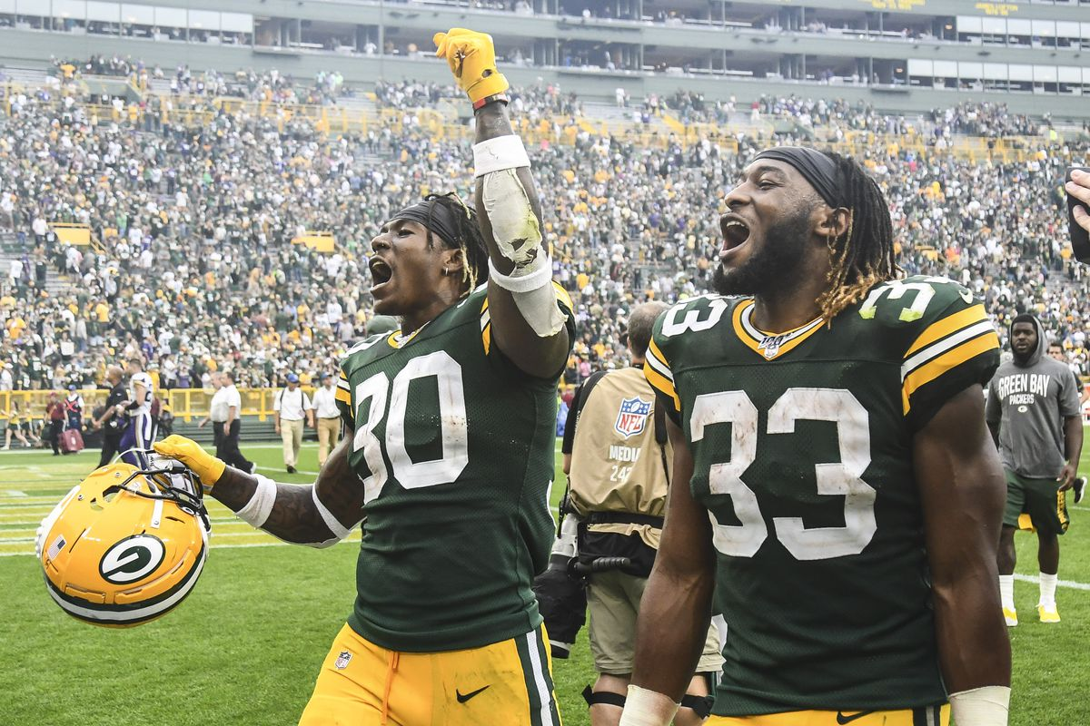 Fantasy Football Start Sit Advice Week 6 What To Do With Aaron Jones Jamaal Williams On Monday Night Football Draftkings Nation