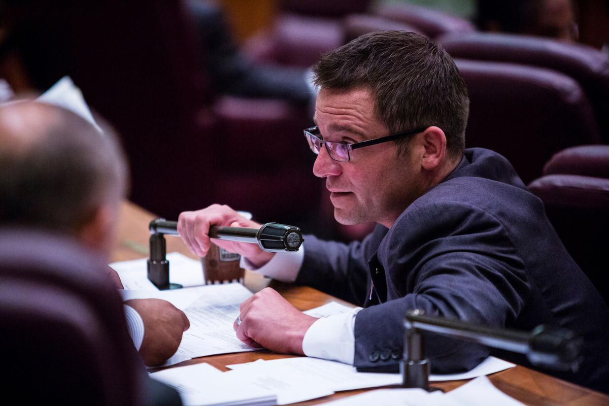 Ald. Proco Joe Moreno (1st) used an abbreviation, not profanity at the Chicago City Council meeting Wednesday, but it still bugged Mayor Rahm Emanuel. | James Foster/For the Sun-Times