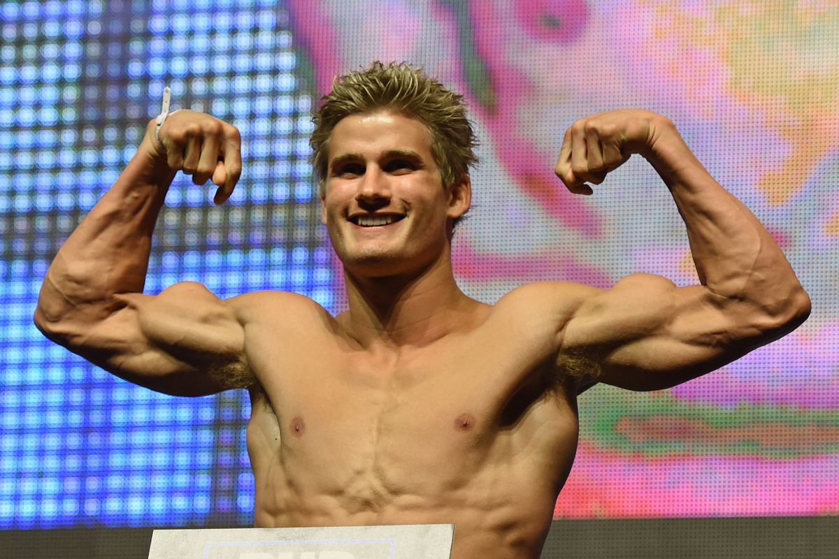 Future middleweight Sage Northcutt hasn't stopped growing