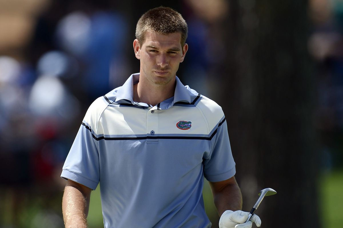 T.J. Vogel is leading Florida — and the NCAA Baton Rouge Regional.