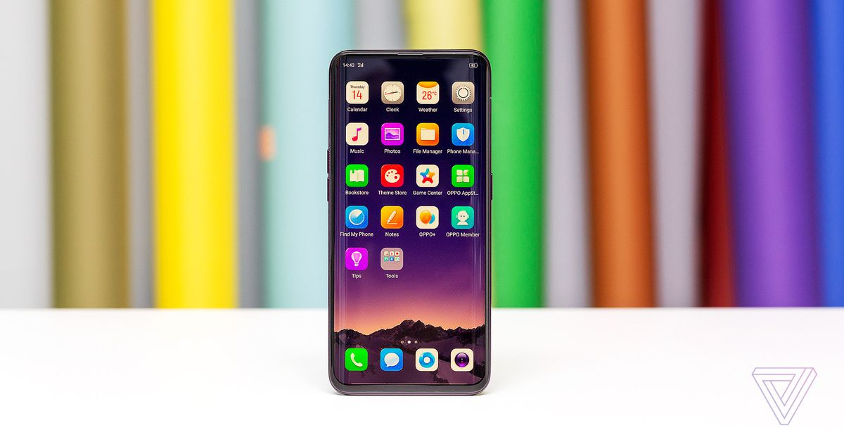 Oppo?s Find X ditches the notch for pop-up cameras