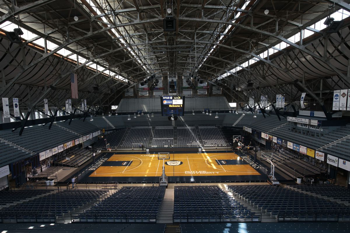 Butler University's Hinkle Fieldhouse is one of the venues that will host this year's NCAA men's basketball tournament.