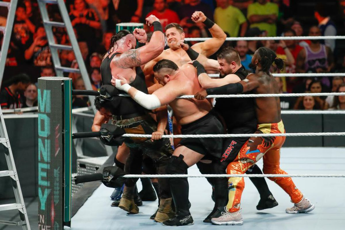 Cageside Community Star Ratings Men S Money In The Bank Ladder Match Cageside Seats