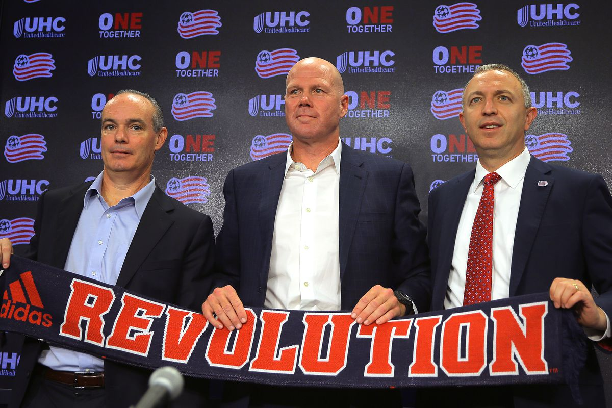 New Coach For MLS's New England Revolution