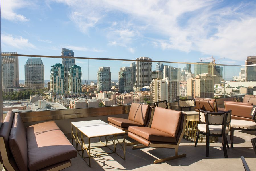 Gaze Upon The Gaslamp's New Rooftop Cocktail Bar With A ...