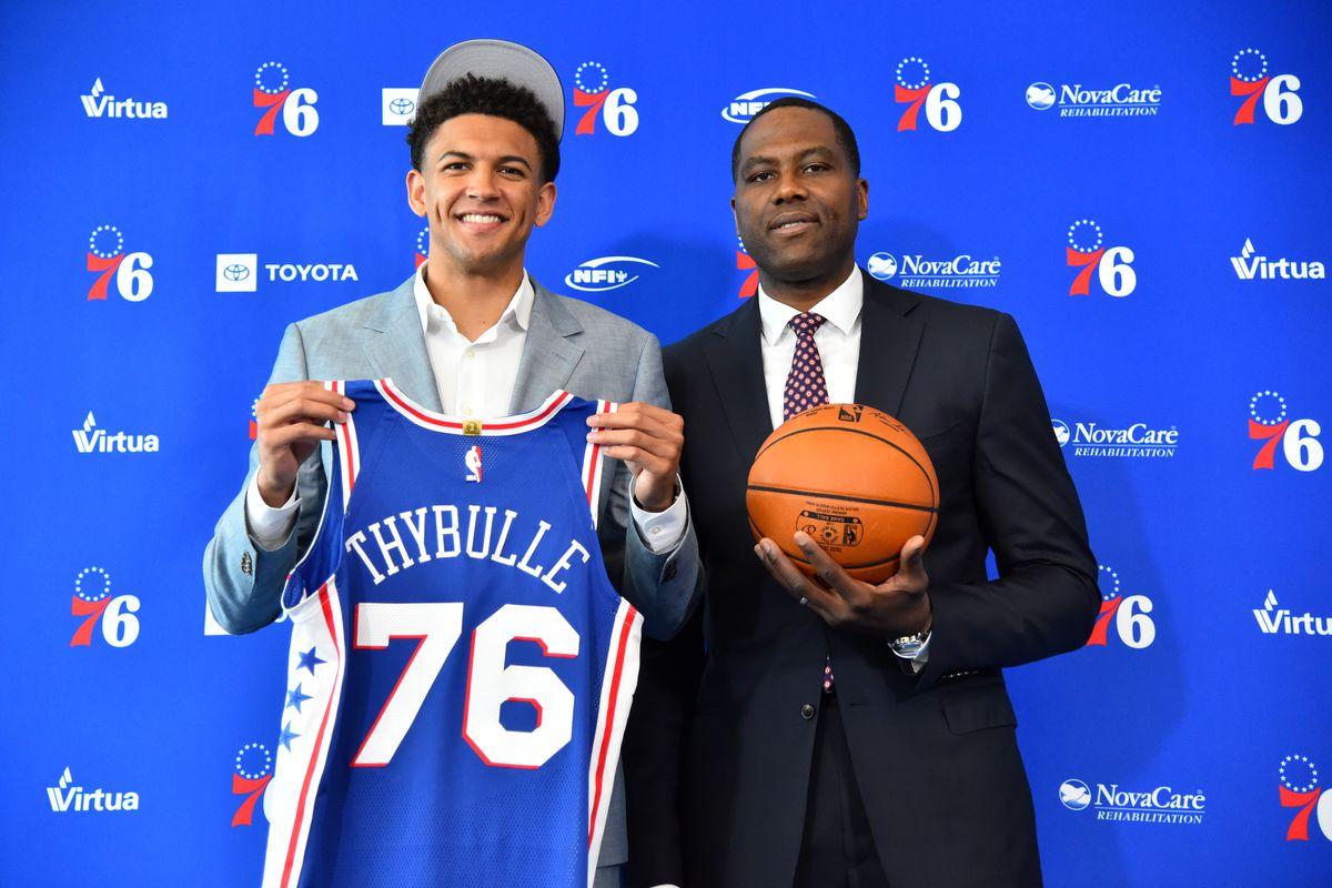 Philadelphia 76ers Introduce Matisse Thybulle