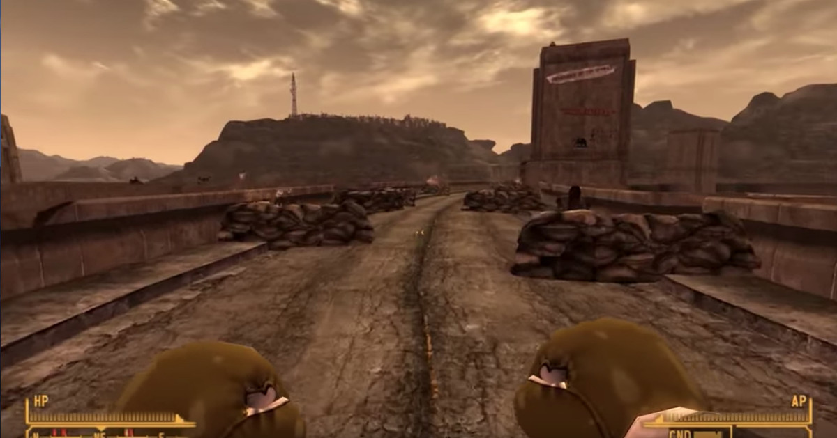 Fallout  New Vegas Fan Beats The Game In About The Hardest Way Imaginable