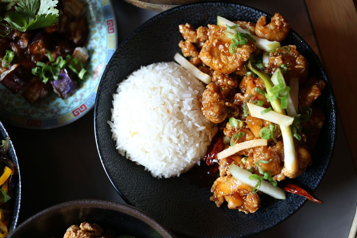 The General Tso's Chicken at Old Thousand