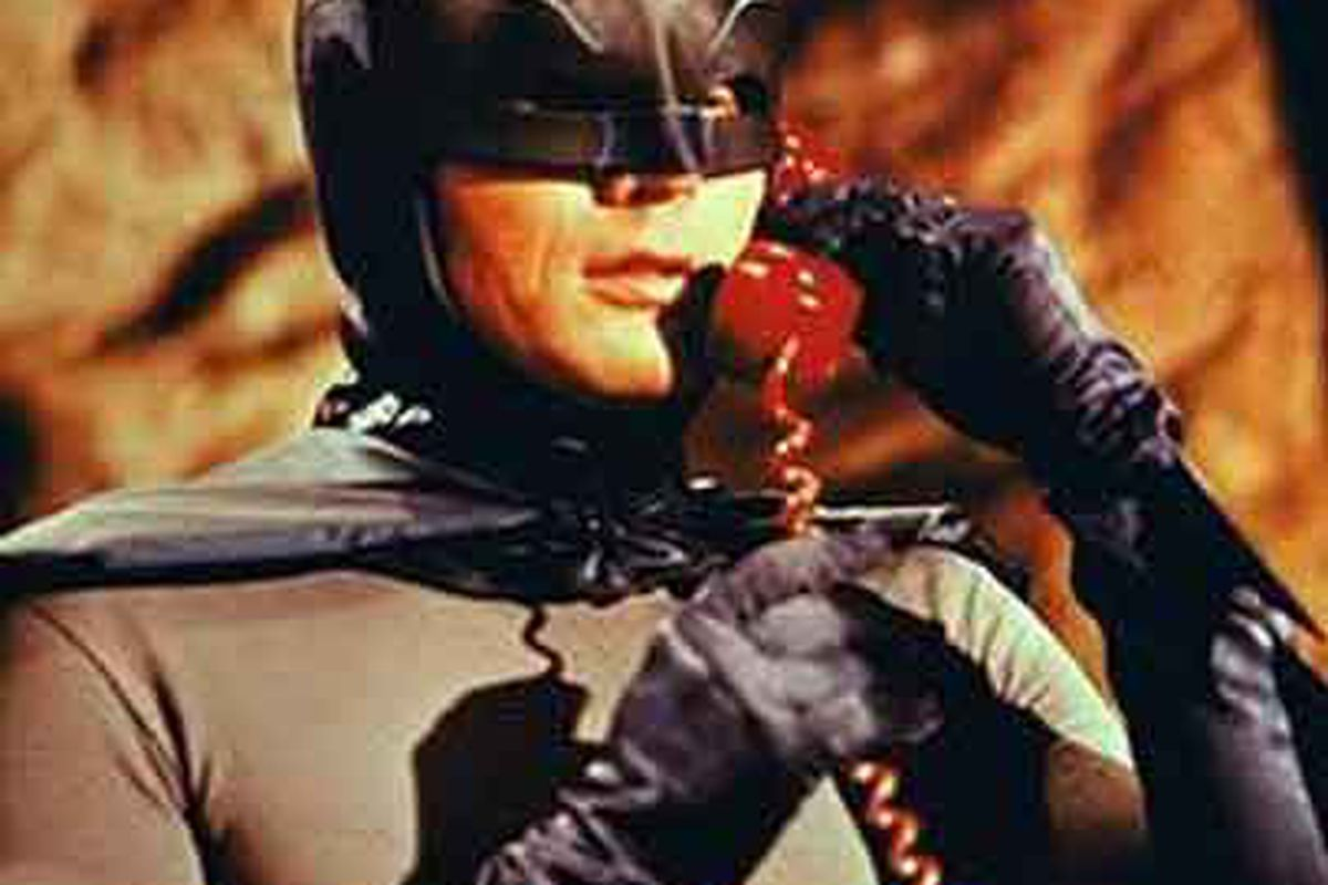Batman on the Batphone.  I imagine Jim Sarosy or Julien BriseBois have one in their office in Syracuse