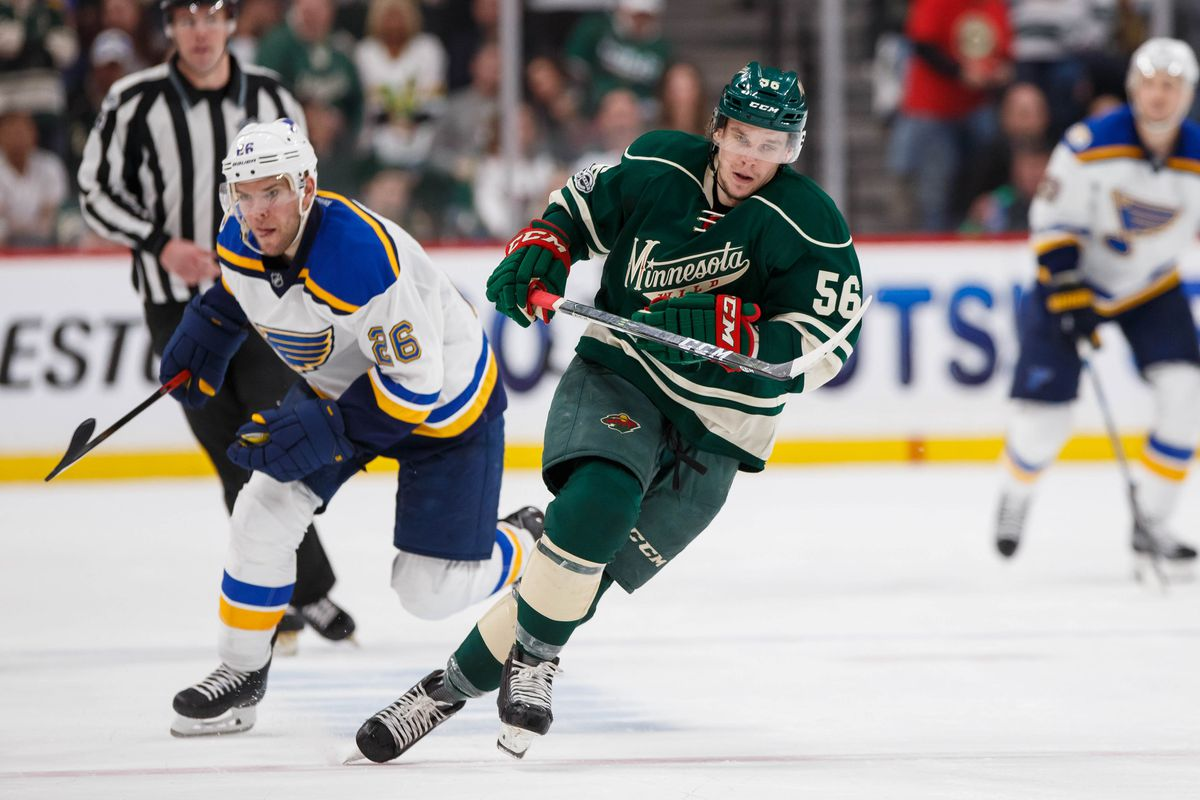save off 15af8 0fd07 REPORTS: Vegas will select Erik Haula, acquire Wild prospect ...