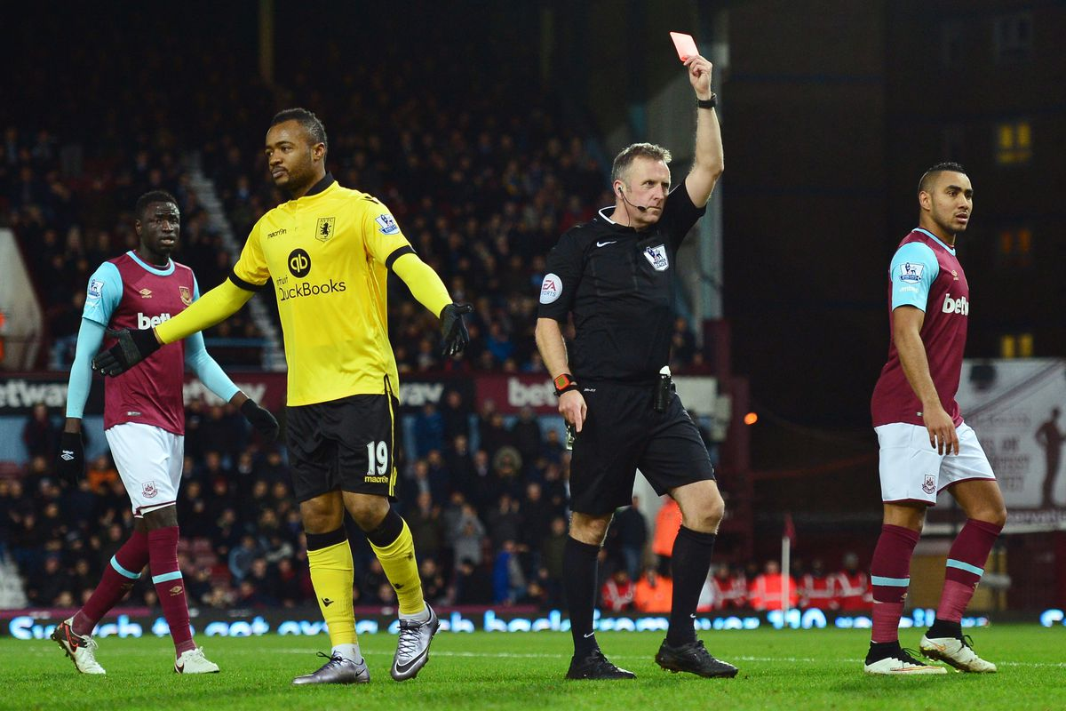 Jordan Ayew will miss out this weekend after his red card