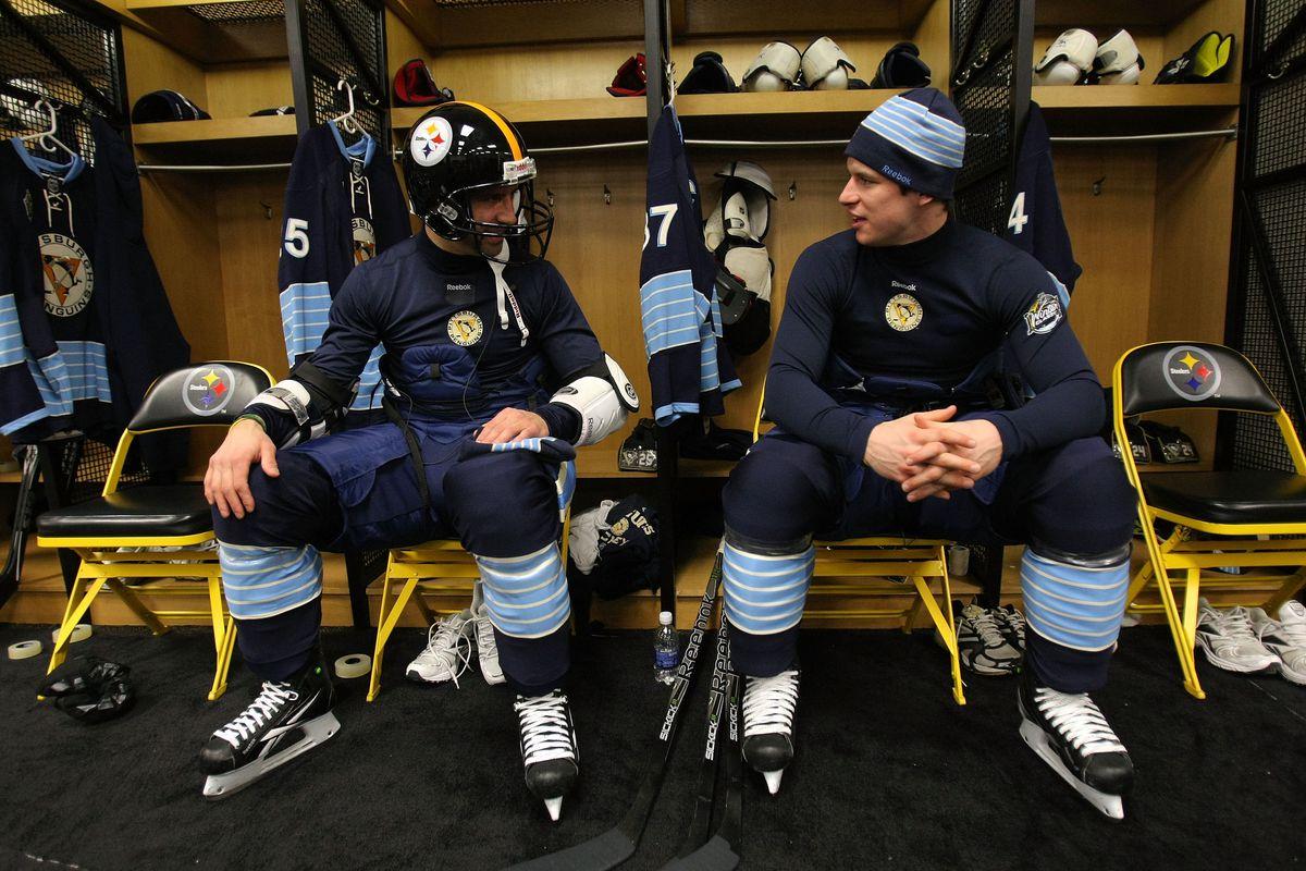 2011 NHL Winter Classic Practice