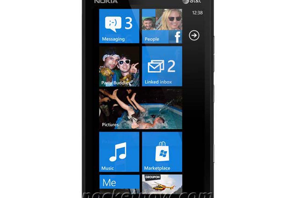 """Nokia Lumia 900 """"Ace"""" Image Leak"""